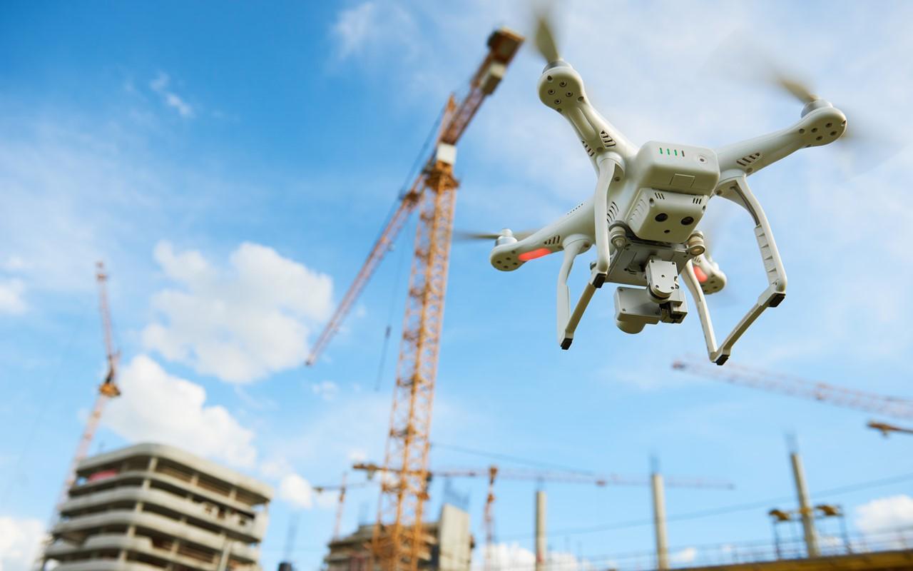 drones de chantier